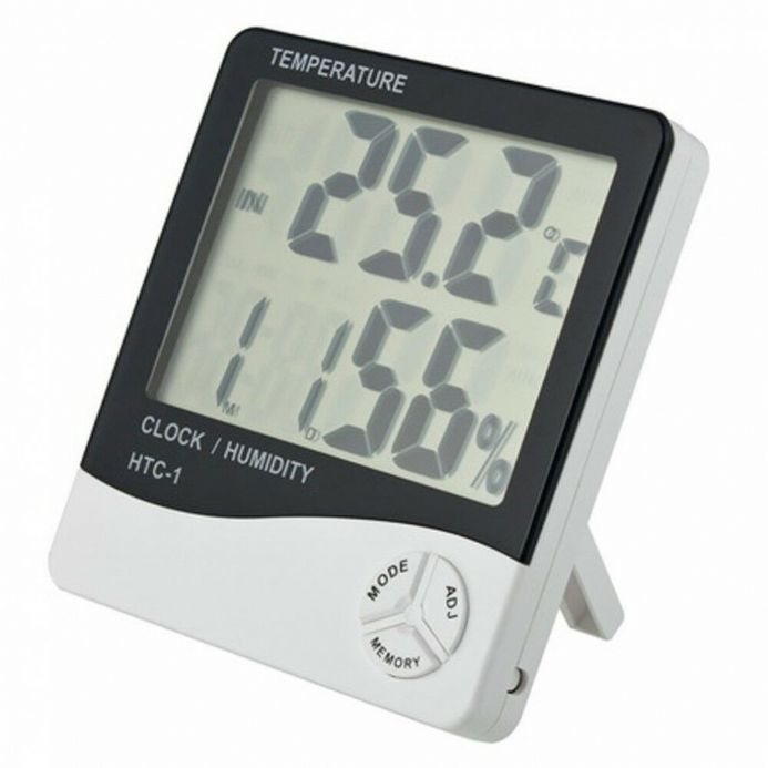 Thermometer / Hygrometer / Clock